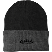 Load image into Gallery viewer, IBO Black Logo Knit Cap