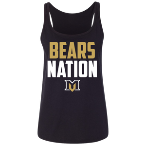 MV Bears Nation Ladies' Relaxed Jersey Tank