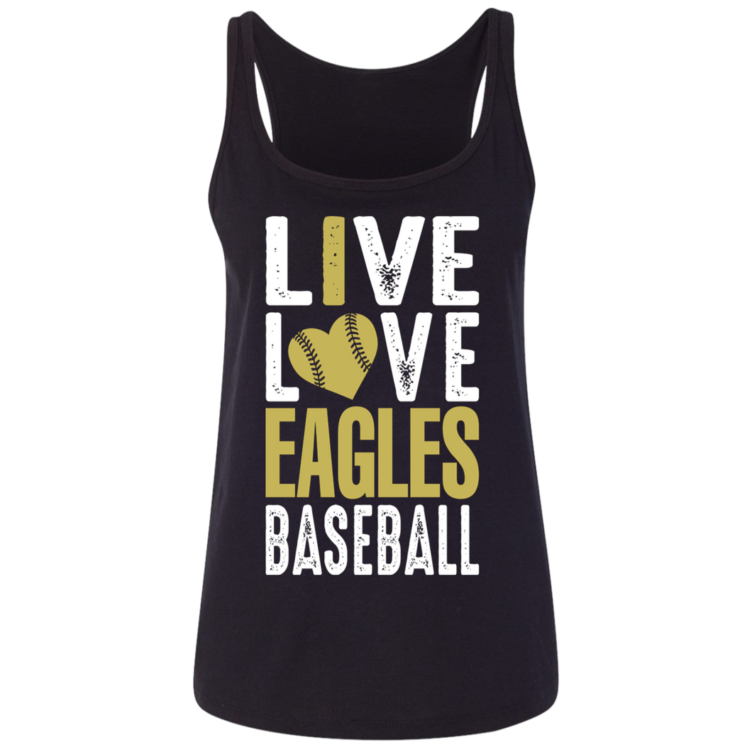 George Jenkins Eagles Ladies' Relaxed Jersey Tank