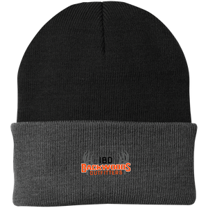 IBO Black/Orange/Gray Knit Cap