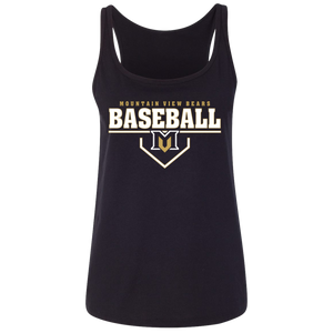 MV Bears Plate Logo Ladies' Relaxed Jersey Tank