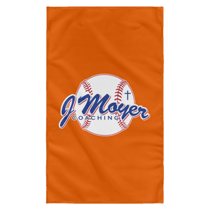 J Moyer Sublimated Wall Flag