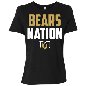 MV Bears Nation Ladies' Relaxed Jersey Short-Sleeve T-Shirt