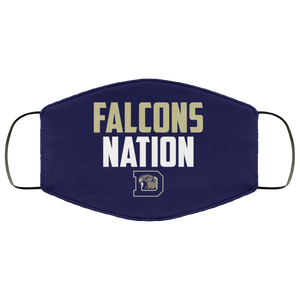 Falcons Nation Face Mask