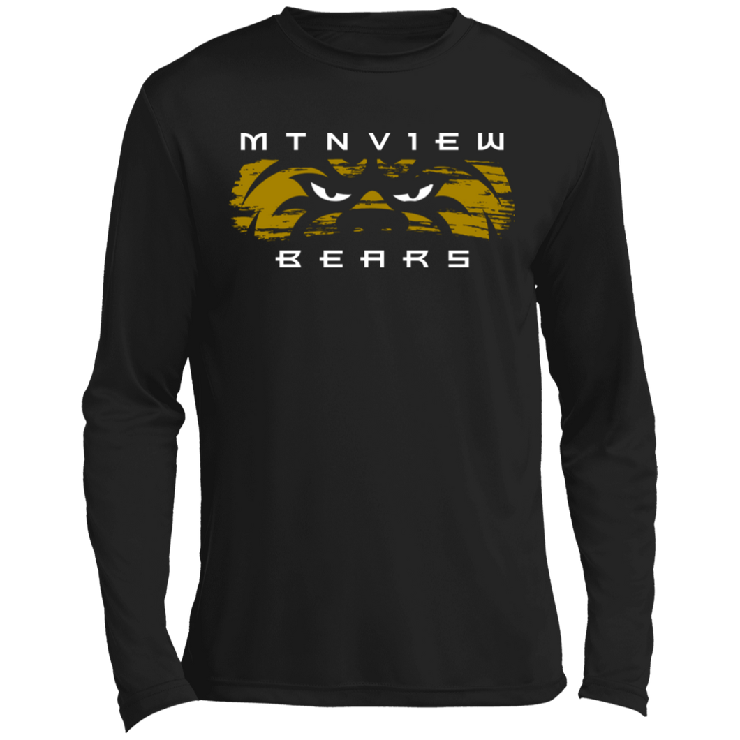 MV Bear Eyes Long sleeve Moisture Absorbing T-Shirt