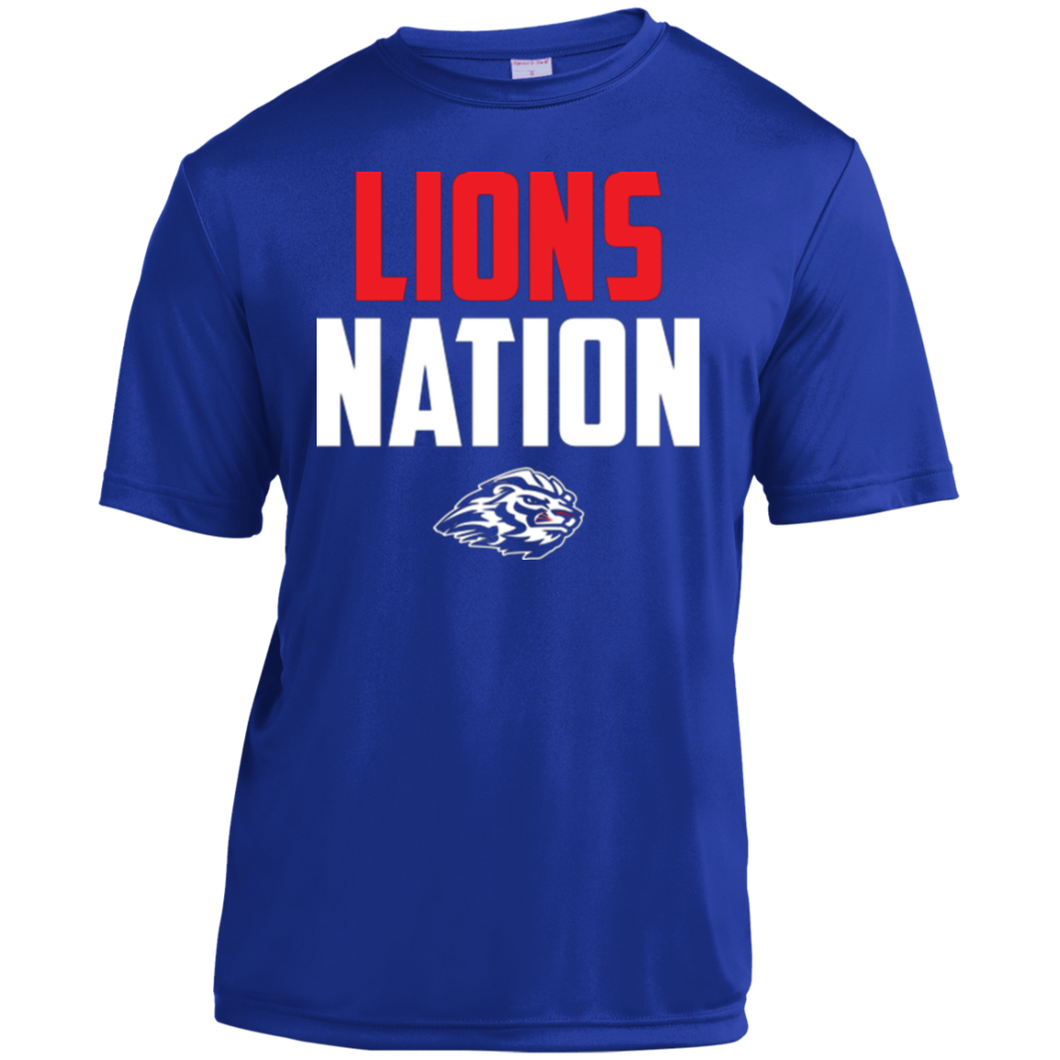 Lions Travel Ball Nation Youth Moisture-Wicking T-Shirt