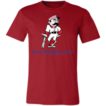 Load image into Gallery viewer, Real Baseball Talk Unisex Jersey Short-Sleeve T-Shirt