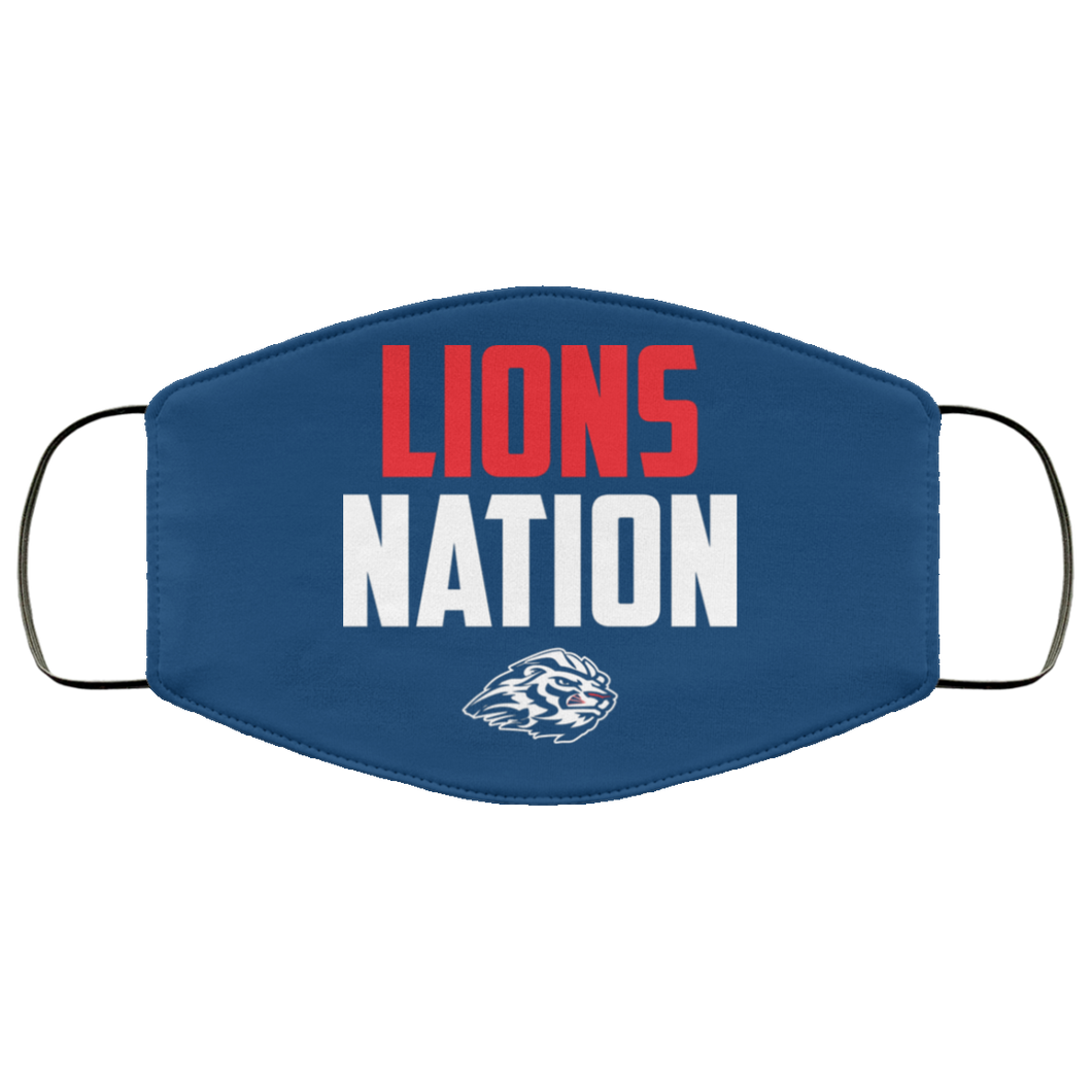 Lions Nation Face Mask