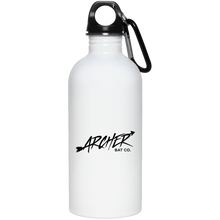 Load image into Gallery viewer, Archer Bat Co 20 oz. Stainless Steel Water Bottle