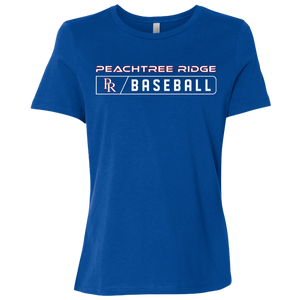 Peachtree Ridge Lions Bar Logo Ladies' Relaxed Jersey Short-Sleeve T-Shirt