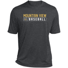 Load image into Gallery viewer, MV Bears Bar Logo Heather Dri-Fit Moisture-Wicking T-Shirt