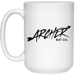 Archer Bat Co 15 oz. White Mug