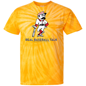 Real Baseball Talk 100% Cotton Tie Dye T-Shirt