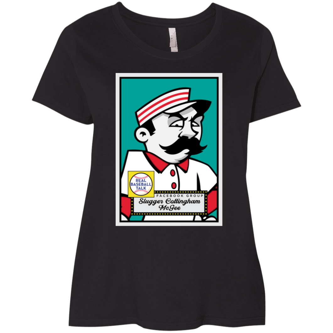 Slugger McGee Ladies' Curvy T-Shirt