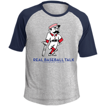 Load image into Gallery viewer, Real Baseball Talk SS Colorblock Raglan Jersey