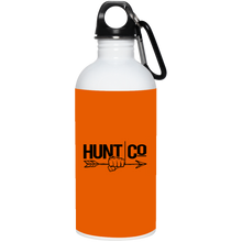 Load image into Gallery viewer, HuntCo 20 oz. Stainless Steel Water Bottle