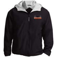 Load image into Gallery viewer, IBO Black/Orange/Gray Team Jacket