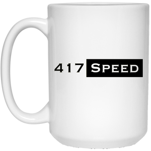 417 Speed 15 oz. White Mug