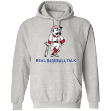 Load image into Gallery viewer, Real Baseball Talk Pullover Hoodie 8 oz.