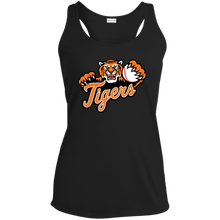Load image into Gallery viewer, Stockbridge Tigers Ladies' Racerback Moisture Wicking Tank