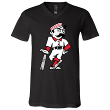 Load image into Gallery viewer, Slugger T Unisex Jersey SS V-Neck T-Shirt