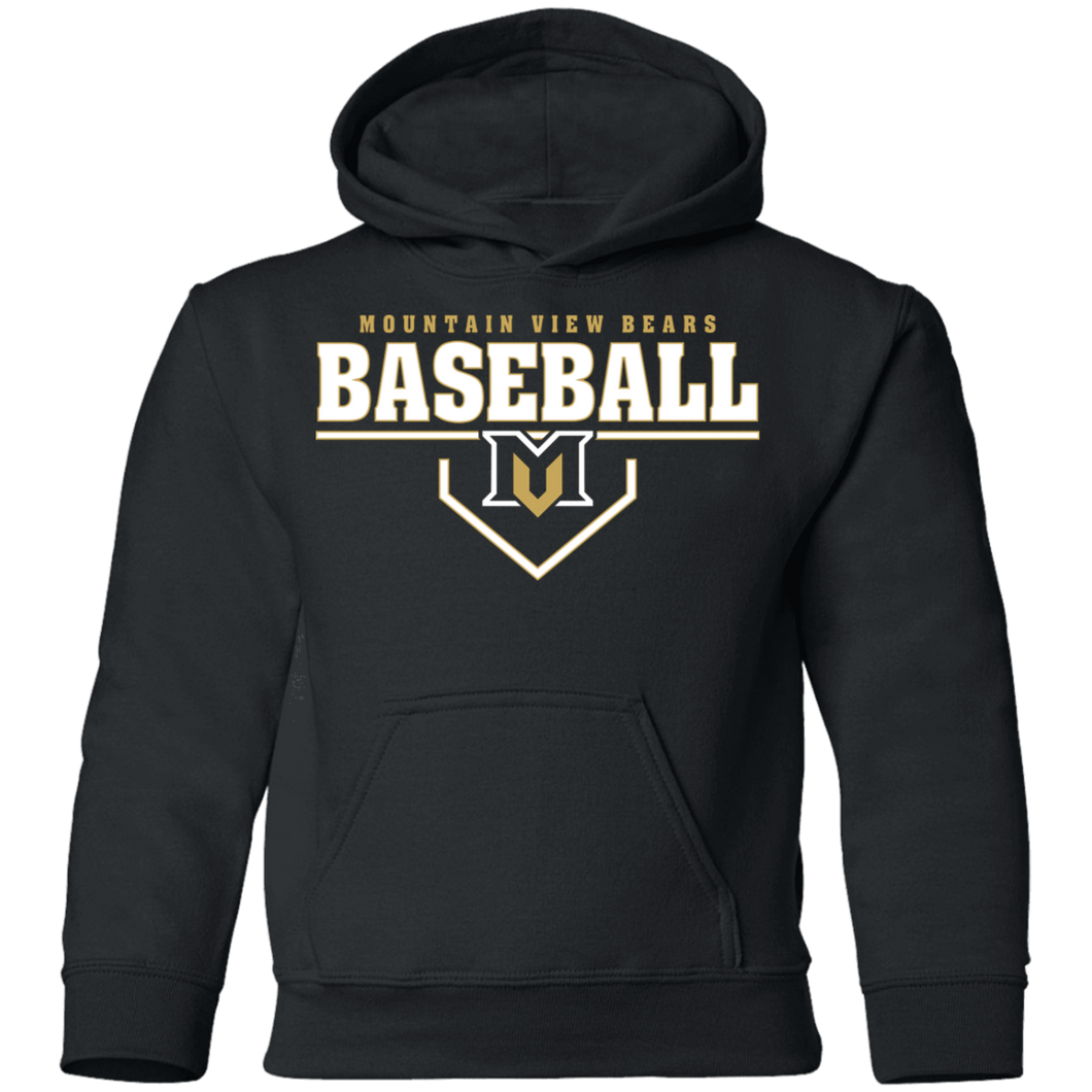 MV Bears Plate Logo Youth Pullover Hoodie