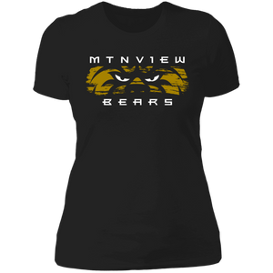 MV Bear Eyes Ladies' Boyfriend T-Shirt