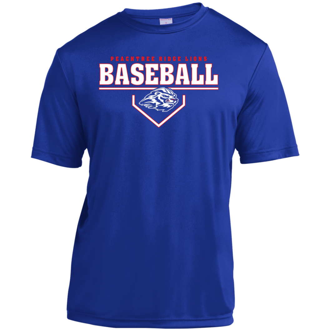 Peachtree Ridge Lions Plate Logo Youth Moisture-Wicking T-Shirt