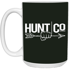 Load image into Gallery viewer, HuntCo 15 oz. White Mug