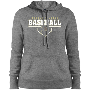 Dacula Falcons Plate Logo Ladies' Pullover Hooded Sweatshirt