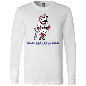 Real Baseball Talk Jersey LS T-Shirt