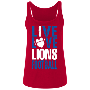 Peachtree Ridge Lions Ladies' Relaxed Jersey Tank
