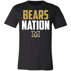 MV Bears Nation Unisex Jersey Short-Sleeve T-Shirt