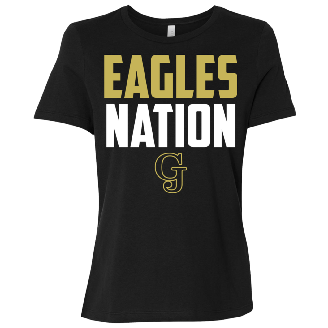 Eagles Nation Ladies' Relaxed Jersey Short-Sleeve T-Shirt