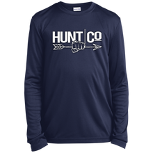Load image into Gallery viewer, HuntCo Youth Long Sleeve Moisture-Wicking T-Shirt