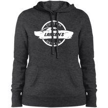 Load image into Gallery viewer, Larsen's Custom Details Ladies' Pullover Hooded Sweatshirt