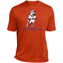 Load image into Gallery viewer, Real Baseball Talk Heather Dri-Fit Moisture-Wicking T-Shirt