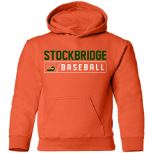 Load image into Gallery viewer, Stockbridge Bar Logo Youth Pullover Hoodie