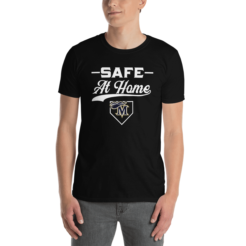 Safe At Home Cavaliers Short-Sleeve Unisex T-Shirt