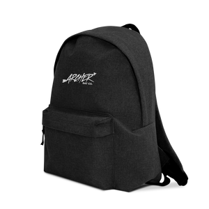 Archer Bat Co Embroidered Backpack