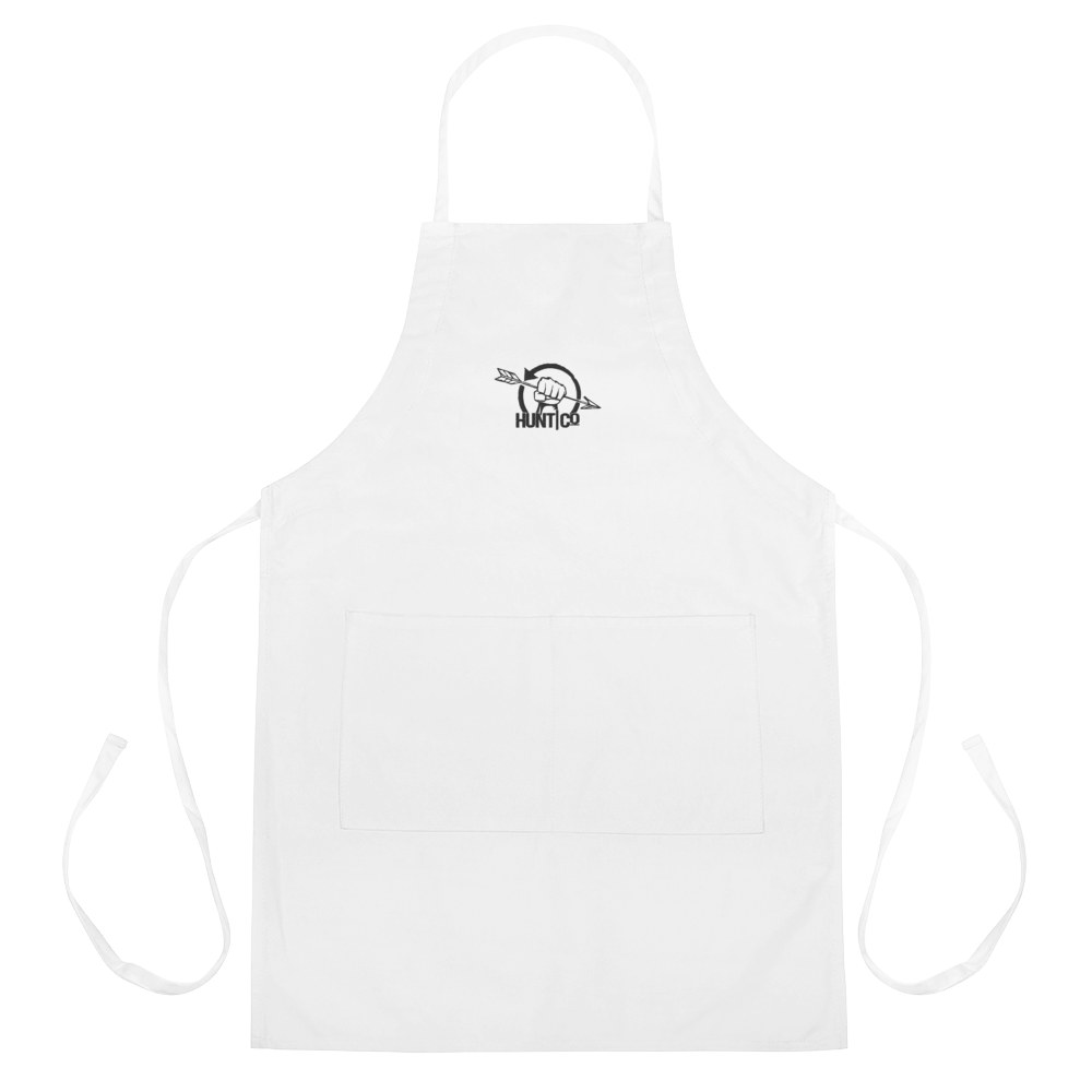 HuntCo Embroidered Apron
