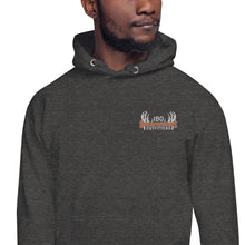 Load image into Gallery viewer, Embroidered IBO Orange/White/Grey Hoodie