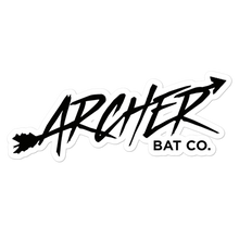 Load image into Gallery viewer, Archer Bat Co Bubble-free stickers