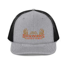 Load image into Gallery viewer, IBO Swag Trucker Gray/Orange 3B Puff