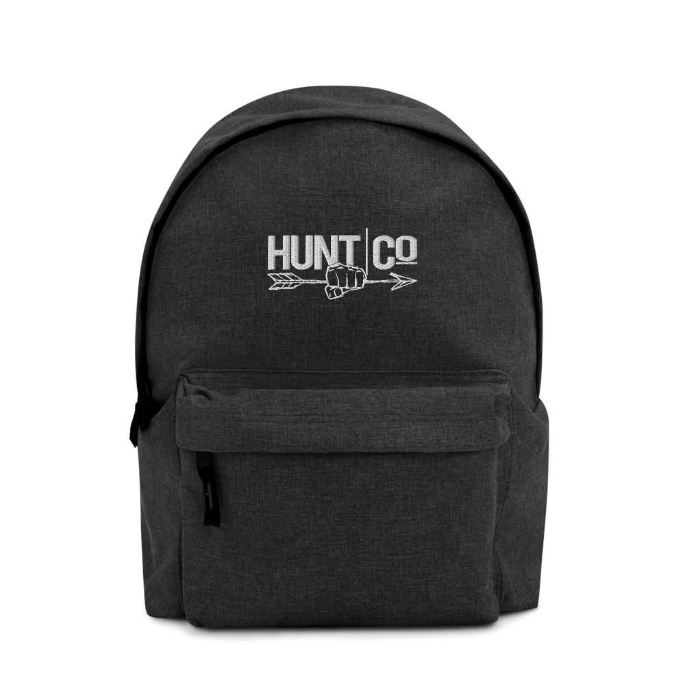 HuntCo Embroidered Backpack