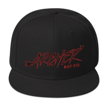 Load image into Gallery viewer, Archer Bat Co Snapback Hat