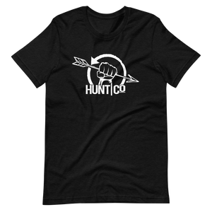 HuntCo Circle Logo Short-Sleeve Unisex T-Shirt