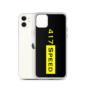 417 Speed iPhone Case