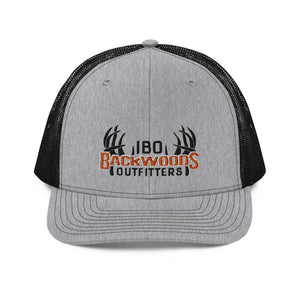 Richardson 112 IBO Swag Pack Black/Orange/White 3D Trucker Cap