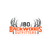 Load image into Gallery viewer, Illinois Backwoods Outfitters Bubble-free stickers
